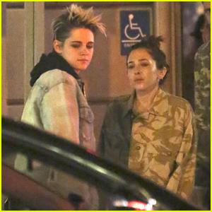 Kristen Stewart & Rumored Girlfriend Sara Dinkin Celebrate a Family Member's Birthday in Los Feliz