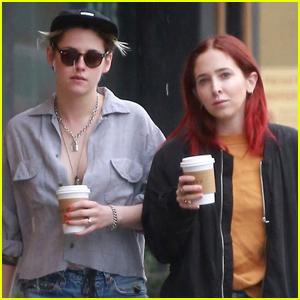 Kristen Stewart Grabs Coffee with Rumored Girlfriend Sara Dinkin