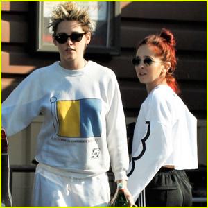 Kristen Stewart & Sara Dinkin Couple Up For Grocery Run!