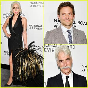 Lady Gaga, Bradley Cooper, & Sam Elliott Accept Their 'Star Is Born' Wins at NBR Awards 2019!