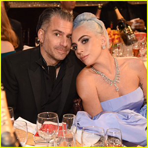Lady Gaga's Golden Globes Date is Fiance Christian Carino!