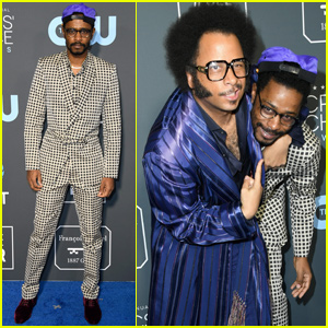 Lakeith Stanfield Suits Up For Critics' Choice Awards 2019!