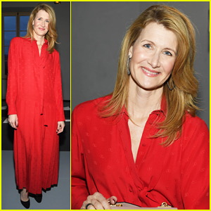 Laura Dern Hits Paris Fashion Week for Valentino Show!