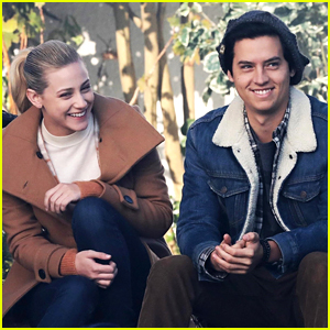 Lili Reinhart & Cole Sprouse Film 'Riverdale' Scenes in New Set Photos!
