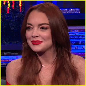 Lindsay Lohan Addresses Her Instagram Feud With Kim Kardashian on 'WWHL' - Watch!