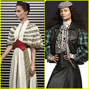 Alicia Vikander, Thandie Newton, & More Model Louis Vuitton's Pre-Fall 2019 Collection