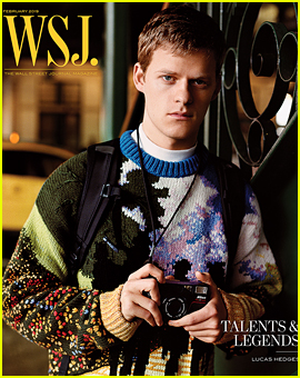 Lucas Hedges Opens Up About Being Compared to Other Leading Men