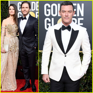Luke Evans & Daniel Bruhl Represent 'The Alienist' at Golden Globes 2019!