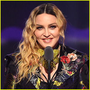 Madonna Debuts Short Dark Hair Style - See Her New Look!