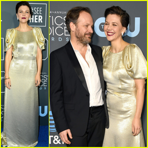 Nominees Peter Sarsgaard & Maggie Gyllenhaal Hit the Red Carpet at Critics' Choice Awards 2019