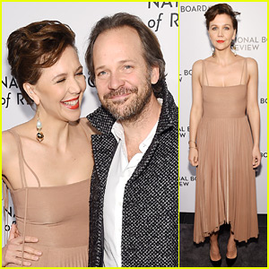 Maggie Gyllenhaal & Peter Sarsgaard Make It a Date Night at NBR Awards 2019