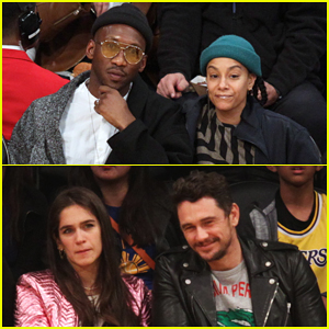 Mahershala Ali & James Franco Have Date Night at Lakers Game!