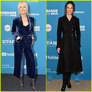 Malin Akerman & Hilary Swank Premiere Movies at Sundance!