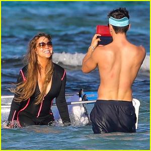 Mariah Carey & Bryan Tanaka Enjoy Holiday Vacation in St. Barth's!
