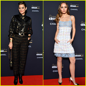 Marion Cotillard & Lily-Rose Depp Celebrate Promising Young Actresses at Cesar Revelations Event