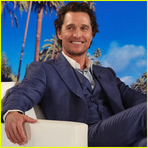 Matthew McConaughey Reveals Anne Hathaway Was a Day Late to His Birthday Party - Watch Now!