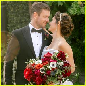 FBI's Missy Peregrym Marries Tom Oakley!