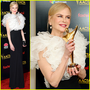 Nicole Kidman Is Lauded By Fellow Aussies at AACTA Awards!