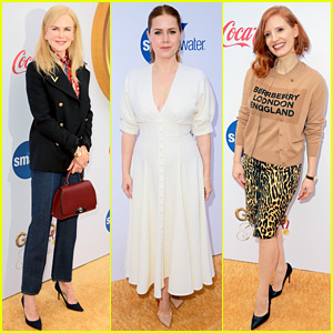 Nicole Kidman, Amy Adams, & Jessica Chastain Attend Gold Meets Golden Event During Globes Weekend!