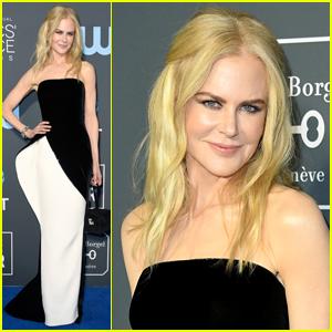 Nicole Kidman Shows Her Style at Critics' Choice Awards 2019