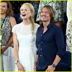 Nicole Kidman & Keith Urban Check Out the Australian Open