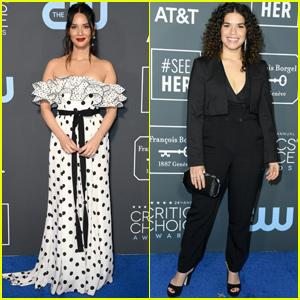 Olivia Munn & America Ferrera Show Their Style at Critics' Choice Awards 2019!