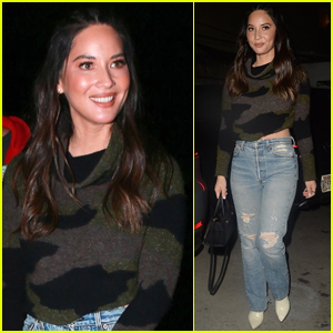 Olivia Munn is All Smiles Stepping Out for Appearance on Tig Notaro's Show