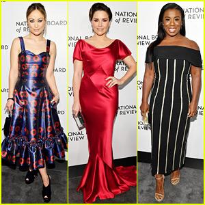 Olivia Wilde, Sophia Bush, & Uzo Aduba Glam Up for NBR Awards 2019!