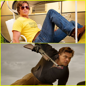 Leonardo DiCaprio & Brad Pitt's 'Once Upon a Time in Hollywood' Debuts New Stills From Set!