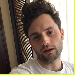 Penn Badgley Hilariously Reacts to Reaching One Million Followers on Instagram