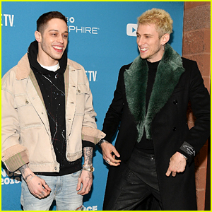 Pete Davidson Jokes About His Time in Rehab at Sundance