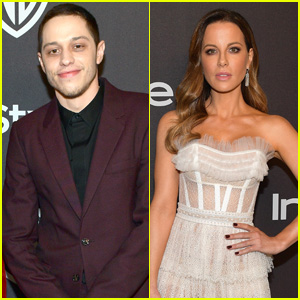 Pete Davidson & Kate Beckinsale Leave Golden Globes After Party Together (Report)