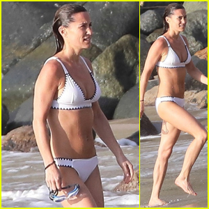 Pippa Middleton Shows Off Her Bikini Body With Husband James Matthews in St. Barts After Giving Birth!