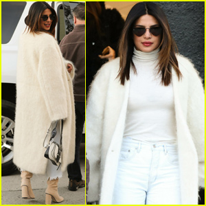 Priyanka Chopra Gets Chic For Hair Salon Stop in LA!