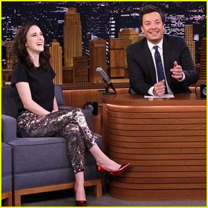 Rachel Brosnahan Tells 'Fallon' The Funny Place She Keeps Her Awards - Watch Here!