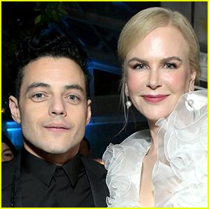 Rami Malek Cringes Over That Awkward Golden Globes Moment with Nicole Kidman!