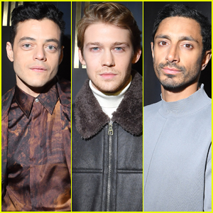Rami Malek, Joe Alwyn, & Riz Ahmed Step Out for Dunhill Fashion Show in Paris