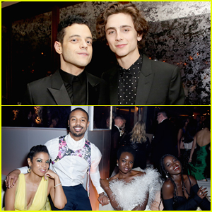 Rami Malek, Timothee Chalamet & More Live It Up at Netflix SAG Awards After Party!