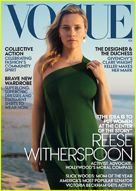 Reese Witherspoon Covers 'Vogue,' Poses with Her Mom Betty & Daughter Ava!