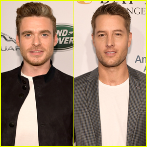 Richard Madden & Justin Hartley Look So Sharp at BAFTA Tea Party!