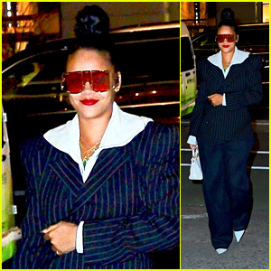 Rihanna Keeps it Chic for a Night Out on the Town in NYC!