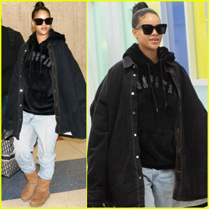 Rihanna Is Cute & Comfy While Jetting to New York City!