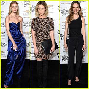 Rosie Huntington-Whiteley, Ashley Tisdale, & Hilary Swank Celebrate 100 Remarkable Women