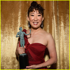 Sandra Oh Wins for 'Killing Eve' Role at SAG Awards 2019!