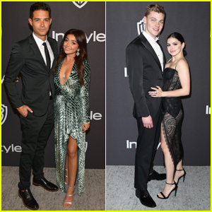 Sarah Hyland & Wells Adams Join Ariel Winter & Levi Meaden at InStyle's Golden Globes After Party!