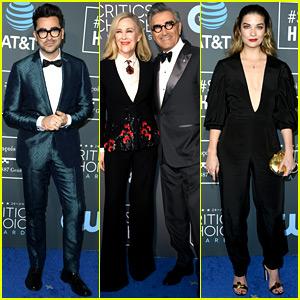 'Schitt's Creek' Cast Steps Out for Critics' Choice Awards 2019!