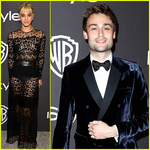 Sofia Boutella, Douglas Booth, & More Party The Night Away After the Golden Globes!