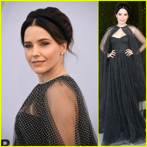 Sophia Bush Gets Glam At Sag Awards 2019 2019 Sag Awards