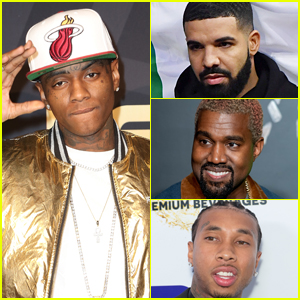 Soulja Boy Throws Massive Shade at Drake, Kanye West, & Tyga