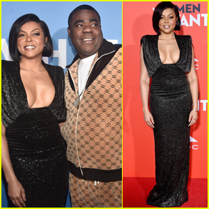 Taraji P. Henson & Tracy Morgan Premiere 'What Men Want' in LA!